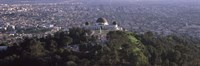 """Griffith Park Observatory, Los Angeles, California, 2010 by Panoramic Images, 2010 - 27"""" x 9"""", FulcrumGallery.com brand"""