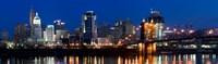 Cincinnati Ohio at Night