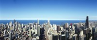 """Chicago skyline, Cook County, Illinois, USA 2010 by Panoramic Images, 2010 - 27"""" x 9"""""""
