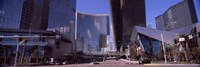 """Skyscrapers in a city, Citycenter, The Strip, Las Vegas, Nevada, USA 2010 by Panoramic Images, 2010 - 27"""" x 9"""""""