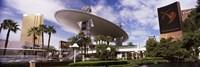 "Hotels in a city, Trump Hotel Las Vegas, Wynn Las Vegas, The Strip, Las Vegas, Nevada, USA by Panoramic Images - 27"" x 9"", FulcrumGallery.com brand"