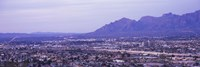 Tuscon Arizona with Mountains