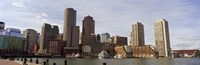 """City at the waterfront, Fan Pier, Boston, Suffolk County, Massachusetts, USA 2010 by Panoramic Images, 2010 - 27"""" x 9"""""""