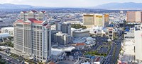 "The Strip, Las Vegas, Clark County, Nevada, USA by Panoramic Images - 27"" x 9"", FulcrumGallery.com brand"