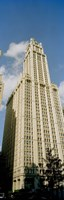 """Low angle view of a building, Woolworth Building, Manhattan, New York City, New York State, USA by Panoramic Images - 9"""" x 27"""""""