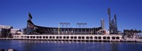 """Baseball park at the waterfront, AT&T Park, 24 Willie Mays Plaza, San Francisco, California, USA by Panoramic Images - 27"""" x 9"""", FulcrumGallery.com brand"""