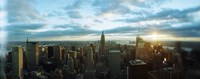 """Buildings in a city, Empire State Building, Manhattan, New York City, New York State, USA 2011 by Panoramic Images, 2011 - 27"""" x 9"""""""