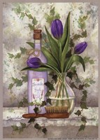Lavender Body Oil Framed Print