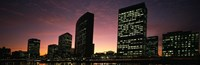 """Buildings at the waterfront, Oakland, Alameda County, California, USA by Panoramic Images - 27"""" x 9"""""""