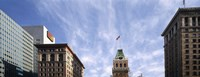 """Buildings in a city, Tribune Tower, Oakland, Alameda County, California, USA by Panoramic Images - 27"""" x 9"""""""