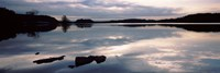 """Reflection of clouds in a lake, Loch Raven Reservoir, Lutherville-Timonium, Baltimore County, Maryland by Panoramic Images - 27"""" x 9"""""""