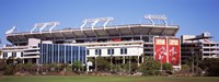 """Raymond James Stadium home of Tampa Bay Buccaneers, Tampa, Florida by Panoramic Images - 27"""" x 9"""""""