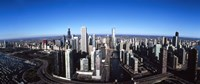 """Skyscrapers in a city, Trump Tower, Chicago River, Chicago, Cook County, Illinois, USA 2011 by Panoramic Images, 2011 - 27"""" x 9"""""""