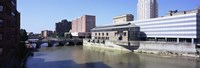 """Genesee River, Rochester, Monroe County, New York State by Panoramic Images - 27"""" x 9"""", FulcrumGallery.com brand"""