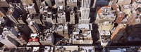 """Skyscraper roof tops, Manhattan, New York City, New York State, USA by Panoramic Images - 27"""" x 9"""""""