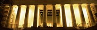 Columns surrounding a memorial, Lincoln Memorial, Washington DC, USA Fine Art Print