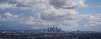 Cloudy Sky Over Los Angeles