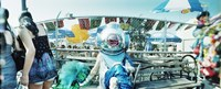 "Coney Island Mermaid Parade, Coney Island, Brooklyn, New York City, New York State, USA by Panoramic Images - 27"" x 9"""