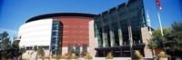 "Building in a city, Pepsi Center, Denver, Colorado by Panoramic Images - 27"" x 9"", FulcrumGallery.com brand"