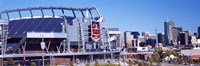 "Sports Authority Field at Mile High, Denver, Colorado by Panoramic Images - 27"" x 9"""