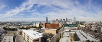 """Buildings in Downtown Los Angeles, Los Angeles County, California, USA 2011 by Panoramic Images, 2011 - 27"""" x 11"""""""