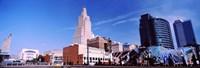 "Street art at Jazz District, Kansas City, Missouri by Panoramic Images - 27"" x 9"""