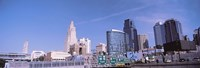 """Low angle view of downtown Kansas City by Panoramic Images - 27"""" x 9"""""""