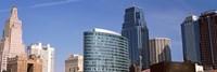 "Downtown Kansas City, Missouri by Panoramic Images - 27"" x 9"""