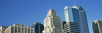 "Close up of buildings in Downtown Kansas City, Missouri by Panoramic Images - 27"" x 9"", FulcrumGallery.com brand"