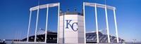 "Baseball stadium, Kauffman Stadium, Kansas City, Missouri, USA by Panoramic Images - 27"" x 9"", FulcrumGallery.com brand"