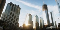 """Skyscrapers in a city, New York City, New York State, USA 2012 by Panoramic Images, 2012 - 27"""" x 14"""""""