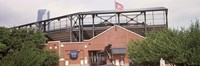 "Warren Spahn Plaza at the Chickasaw Bricktown Ballpark, Oklahoma City, Oklahoma, USA by Panoramic Images - 27"" x 9"""
