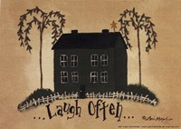 "Laugh Often by Lori Maphies - 7"" x 5"""
