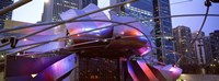 "Low angle view of Jay Pritzker Pavilion, Millennium Park, Chicago, Cook County, Illinois by Panoramic Images - 27"" x 9"", FulcrumGallery.com brand"