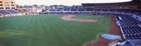 "Baseball stadium in a city, Durham Bulls Athletic Park, Durham, Durham County, North Carolina, USA by Panoramic Images - 27"" x 9"", FulcrumGallery.com brand"