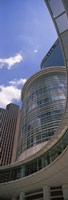 """Low angle view of a building, Chevron Building, Houston, Texas by Panoramic Images - 9"""" x 27"""""""