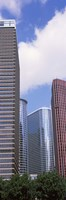 """Low angle view of a building, Houston, Texas, USA by Panoramic Images - 9"""" x 27"""""""