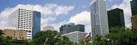 Downtown Houston Texas USA