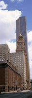 """Skyscrapers in a city, Houston, Texas, USA (vertical) by Panoramic Images - 9"""" x 27"""" - $28.99"""