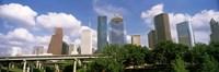 Wedge Tower, ExxonMobil Building, Chevron Building, Houston, Texas (horizontal) Fine Art Print