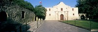 Facade of a building, The Alamo, San Antonio, Texas Fine Art Print