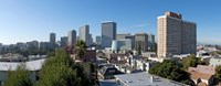 """View over Oakland from Adams Point, California by Panoramic Images - 27"""" x 10"""""""