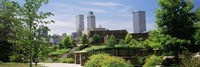 """Buildings in a city, Tulsa, Oklahoma, USA by Panoramic Images - 27"""" x 9"""""""