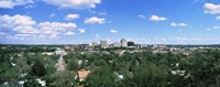 Aerial View of Colorado Springs Colorado