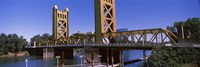 Tower Bridge, Sacramento, CA , USA Fine Art Print