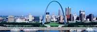 """USA, Missouri, St. Louis, Gateway Arch by Panoramic Images - 36"""" x 12"""""""