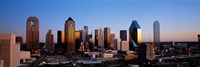 "USA, Texas, Dallas, sunrise by Panoramic Images - 36"" x 12"" - $34.99"
