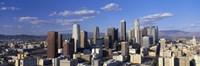 Daylight Skyline, Los Angeles, California, USA Fine Art Print