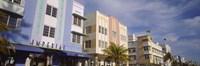Art Deco Hotel, Ocean Drive, Miami Beach, Florida Fine Art Print