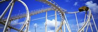 """Batman The Escape Rollercoaster, Astroworld, Houston, Texas, USA by Panoramic Images - 36"""" x 12"""""""